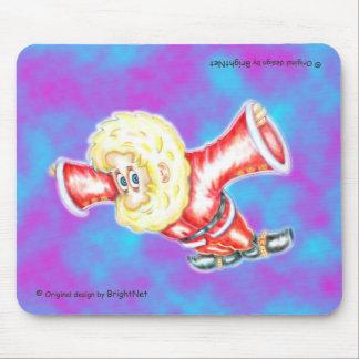Upsidw down dwarf H Mouse Pad