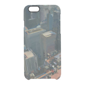 Uptown looking down 2012 clear iPhone 6/6S case