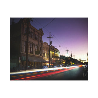 uptown New Orleans Sunset Canvas Canvas Print