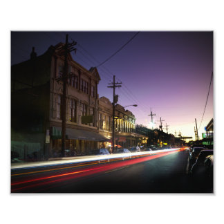 Uptown New Orleans Sunset Print