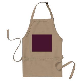Uptown Purple-Royal Purple-Uptown Girl-Designer Standard Apron