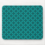 Uptown Retro Mousepad, Teal