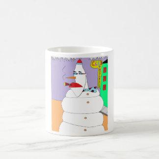 Uptown Snowman Coffee Mug