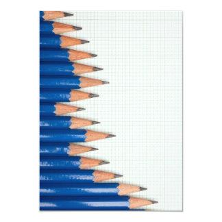 Uptrend chart 13 cm x 18 cm invitation card