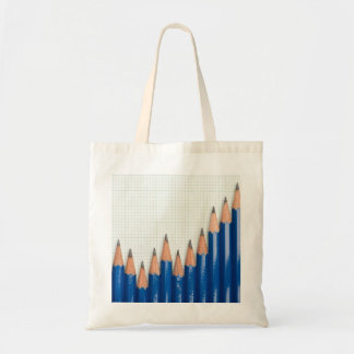 Uptrend chart canvas bags