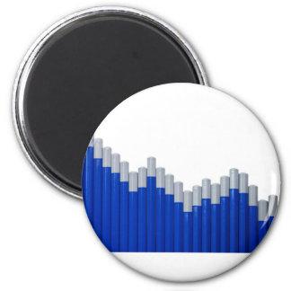 Uptrend 6 Cm Round Magnet