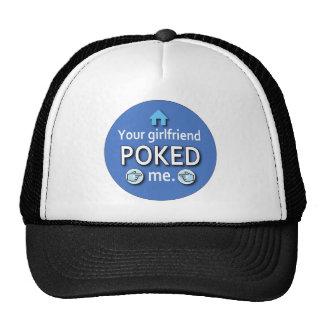 Ur Girlfriend Poked Me Mesh Hats