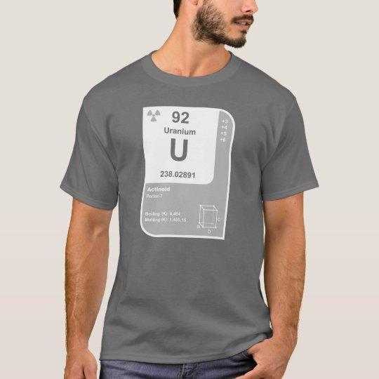 Uranium (U) T-Shirt