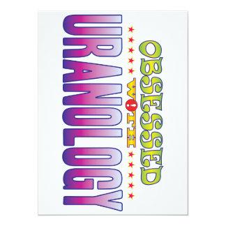 Uranology 2 Obsessed 14 Cm X 19 Cm Invitation Card