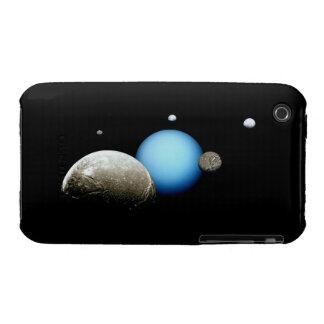 Uranus and Moons NASA Space iPhone 3 Covers