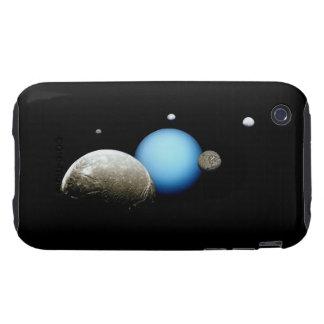 Uranus and Moons NASA Space Tough iPhone 3 Covers