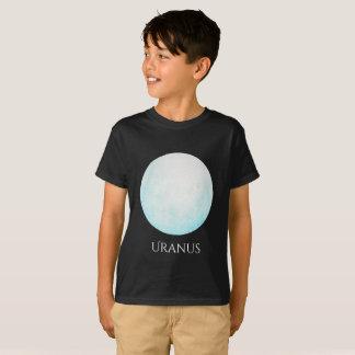 Uranus Planet Watercolor Kid's T T-Shirt