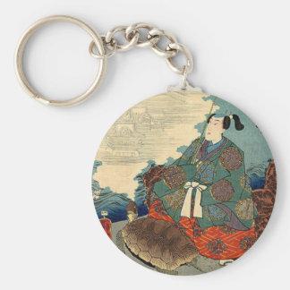 Urashima Taro and the Turtle Japanese Fairy Tale Key Ring