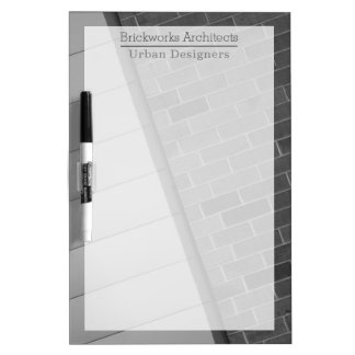 Urban Abstract Dry Erase Board