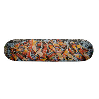 Urban Abstract Graffiti Art Skate Board Decks