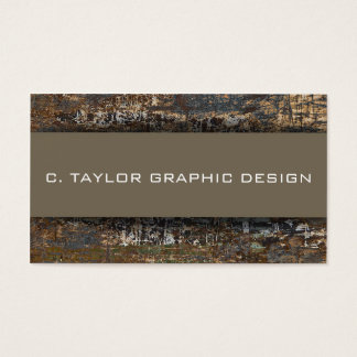 """Urban Abstracts"" 1 Business Card"