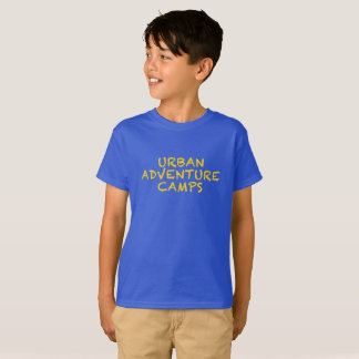 URBAN ADVENTURE CAMPS - Gold Logo T-Shirt
