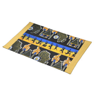 Urban African Design Placemat