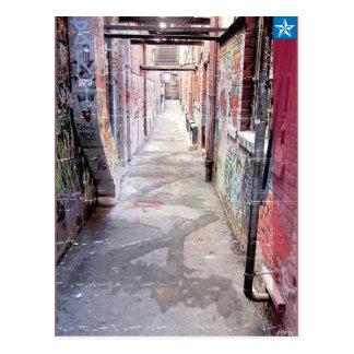 Urban Alley Postcard