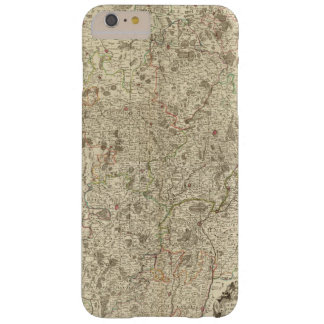 Urban areas of France 2 Barely There iPhone 6 Plus Case