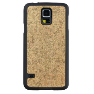 Urban areas of France 2 Carved Maple Galaxy S5 Case