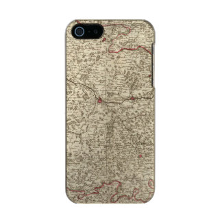 Urban areas of France 2 Incipio Feather® Shine iPhone 5 Case