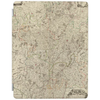 Urban areas of France 2 iPad Cover