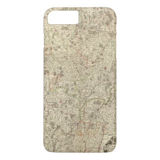 Urban areas of France 2 iPhone 8 Plus/7 Plus Case