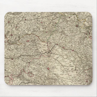 Urban areas of France 2 Mouse Mat