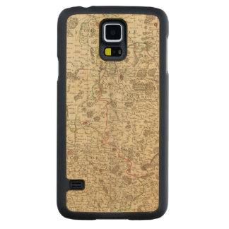 Urban areas of France Carved Maple Galaxy S5 Case