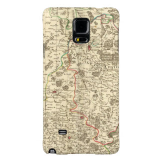 Urban areas of France Galaxy Note 4 Case