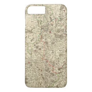 Urban areas of France iPhone 8 Plus/7 Plus Case