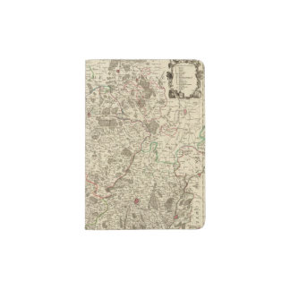 Urban areas of France Passport Holder