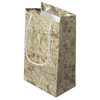 Urban areas of France Small Gift Bag