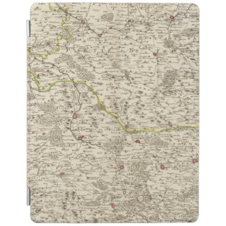 Urban areas of Germany 2 iPad Cover