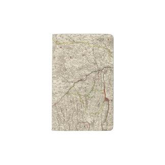 Urban areas of Germany 2 Pocket Moleskine Notebook