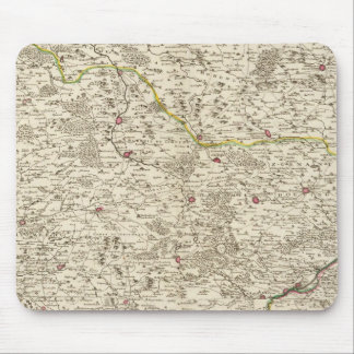 Urban areas of Germany Mouse Pad
