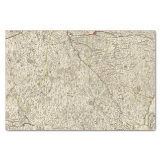 Urban areas of Germany Tissue Paper