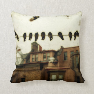 Urban Art Cityscape Cushion