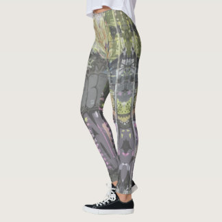 urban art graffiti leggings