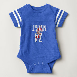 """Urban."" Baby Overall. Baby Bodysuit"