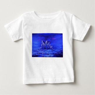 Urban blue design by Jane Howarth Baby T-Shirt