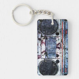Urban boombox key ring