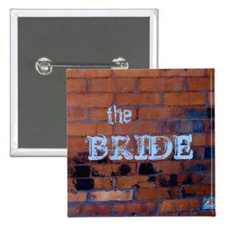 Urban Bridal Party Button