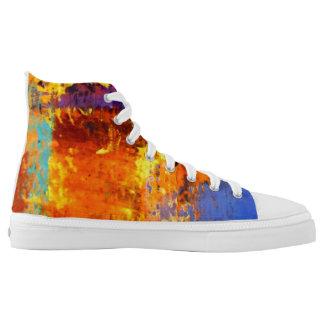 Urban Camo High Top Sneakers