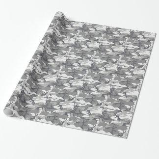 Urban Camo Masculine Gift Wrap