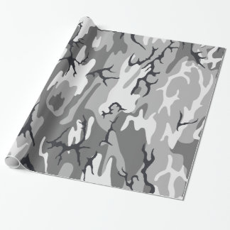 Urban Camo Wrapping Paper