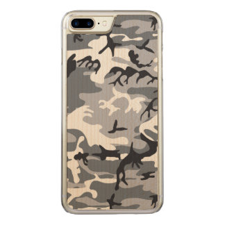 Urban Camouflage Carved iPhone 8 Plus/7 Plus Case