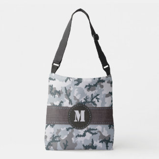 Urban camouflage crossbody bag