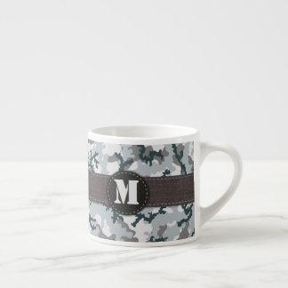 Urban camouflage espresso cup